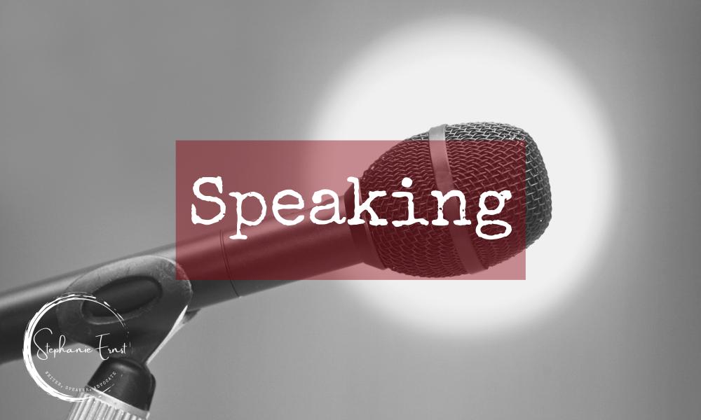 stephanie ernst speaking