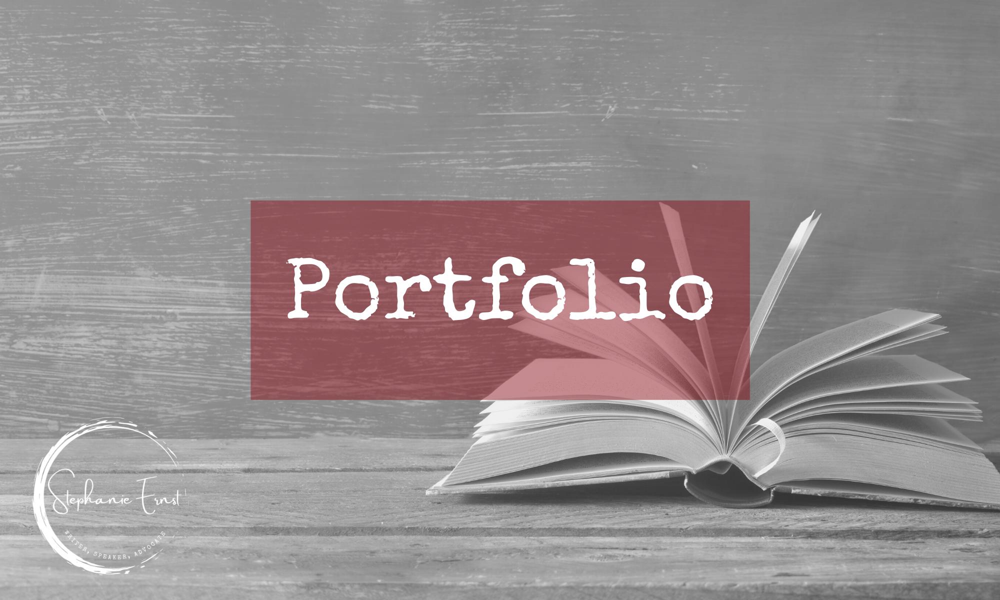 portfolio stephanie ernst